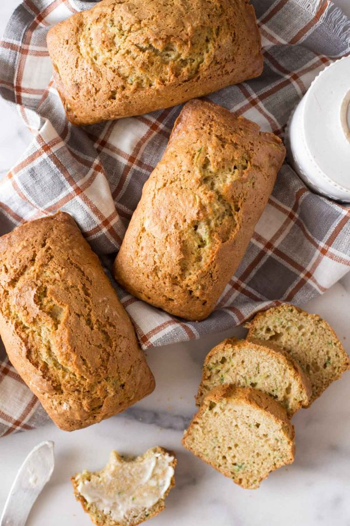 Applesauce Zucchini Bread